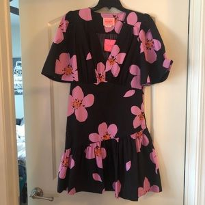 kate spade grand flora Mini Dress